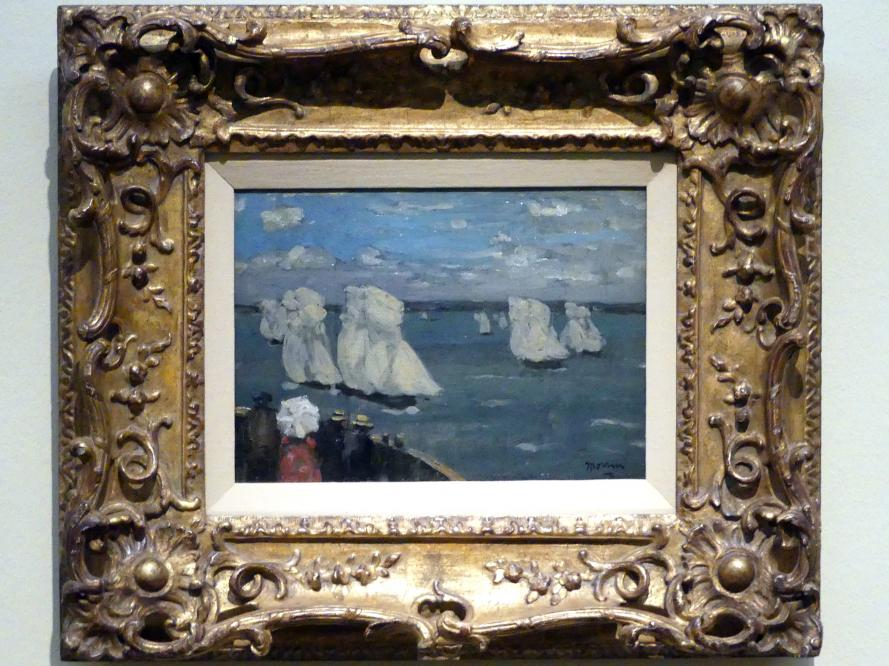 James Wilson Morrice: Die Regatta, um 1902 - 1907