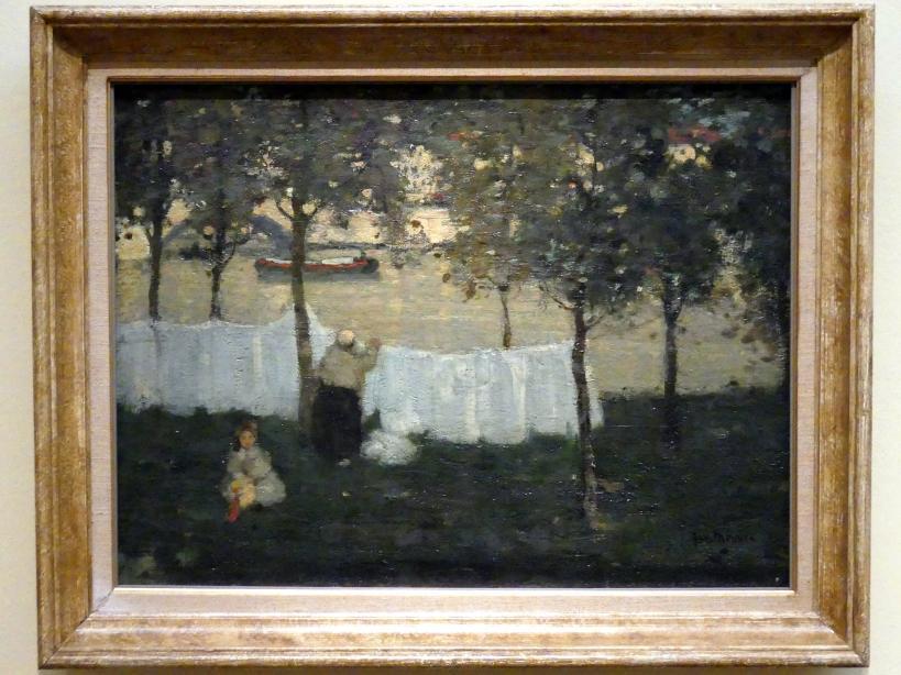 James Wilson Morrice: Waschtag in Charenton, um 1899