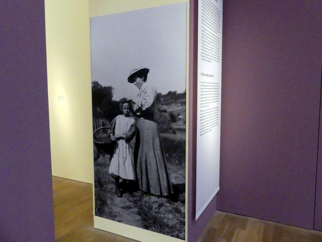 Dorothea Sharp: Helen McNicoll mit einem Modell, Undatiert
