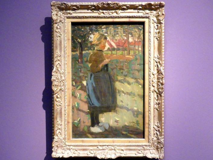 James Wilson Morrice: Mädchen mit Holzschuhen, Um 1896 - 1898
