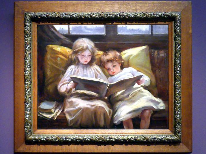Laura Muntz Lyall (Laura Adeline Muntz): Eine interessante Geschichte, 1898, Bild 1/2