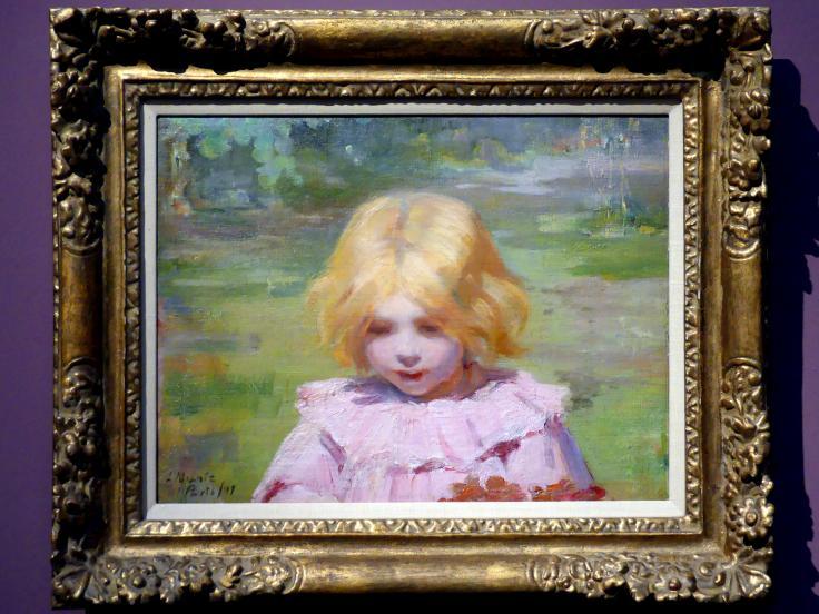Laura Muntz Lyall (Laura Adeline Muntz): Das rosa Kleid, 1897