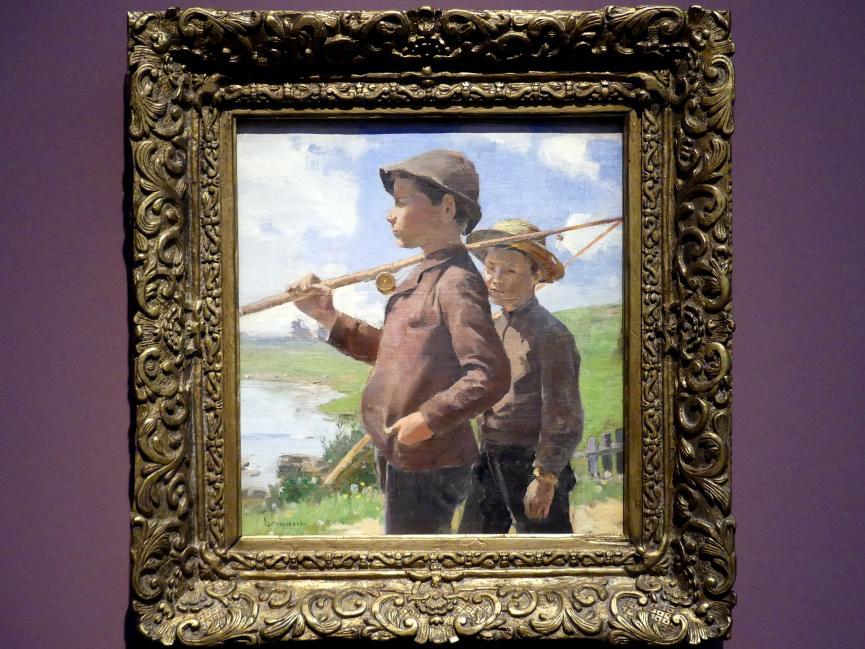 Franklin Brownell: Junge Angler, Gatineau, um 1896