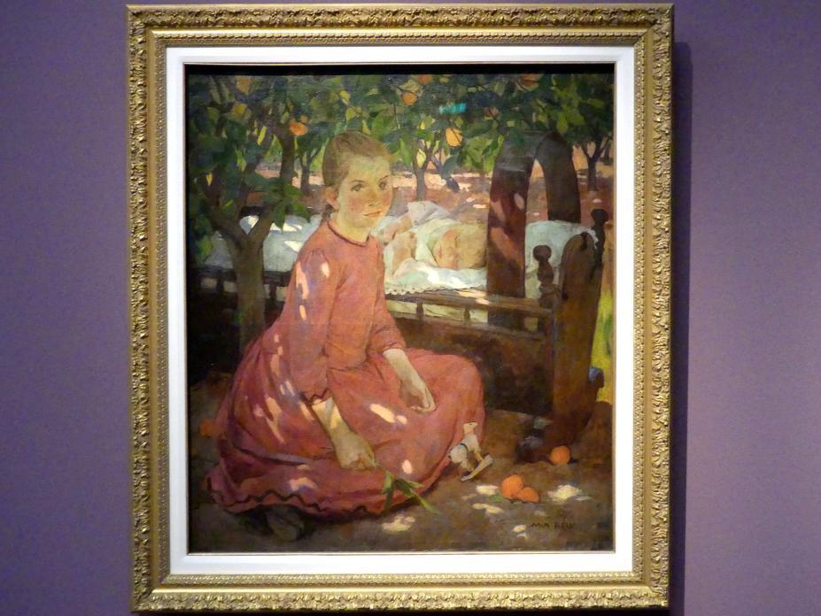 Mary Alexandra Bell (Mary Alexandra Bell Eastlake): Im Obstgarten, um 1895, Bild 1/2