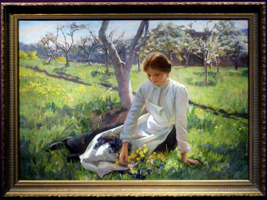 Sophie Pemberton: Frühling, 1902