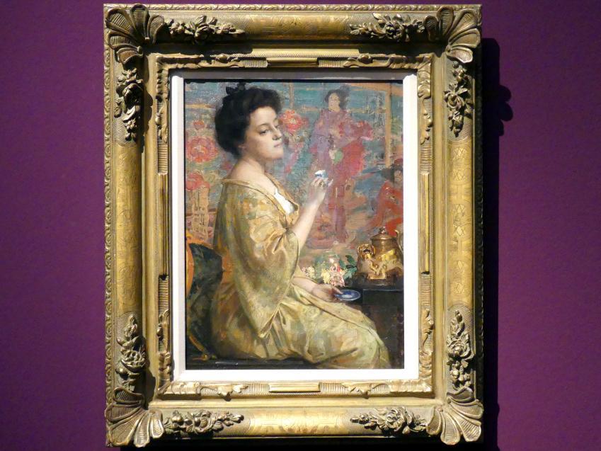 Franklin Brownell: Die Teestunde, 1901