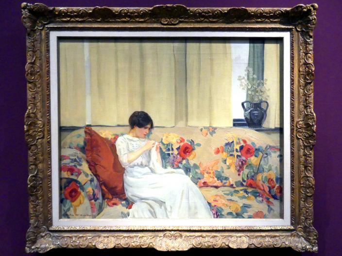 Helen McNicoll: Das Chintzsofa, Um 1913