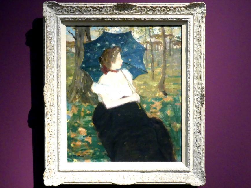 James Wilson Morrice: Der blaue Regenschirm, Um 1898