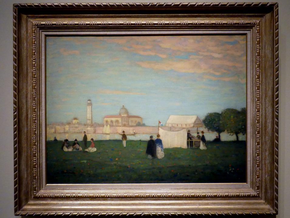 James Wilson Morrice: Die Kirche San Pietro di Castello, Venedig, Um 1904 - 1905