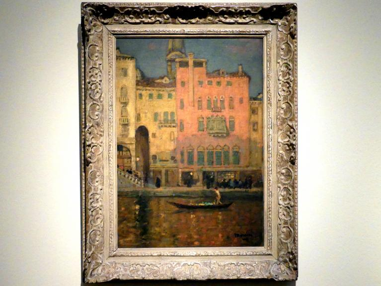 James Wilson Morrice: Venedig zur goldenen Stunde, Um 1901 - 1902