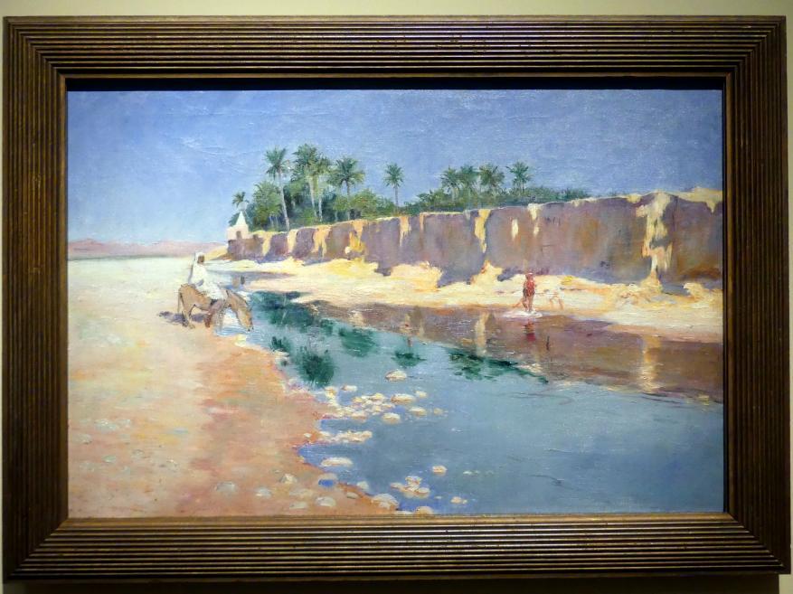 Maurice Galbraith Cullen: Ein afrikanischer Fluss, 1893