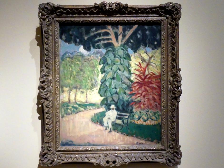 James Wilson Morrice: In einem Garten, Westindische Inseln, Um 1915 - 1921