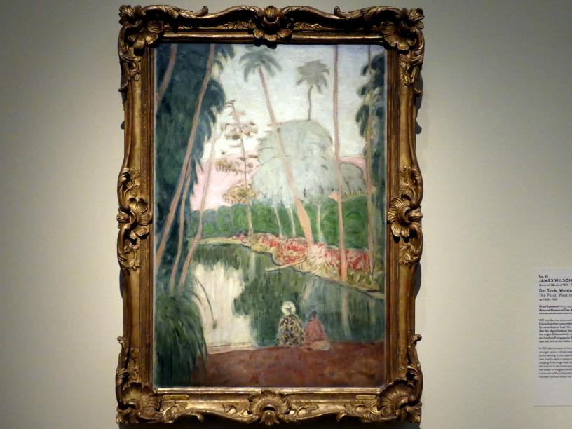 James Wilson Morrice: Der Teich, Westindische Inseln, Um 1920 - 1922