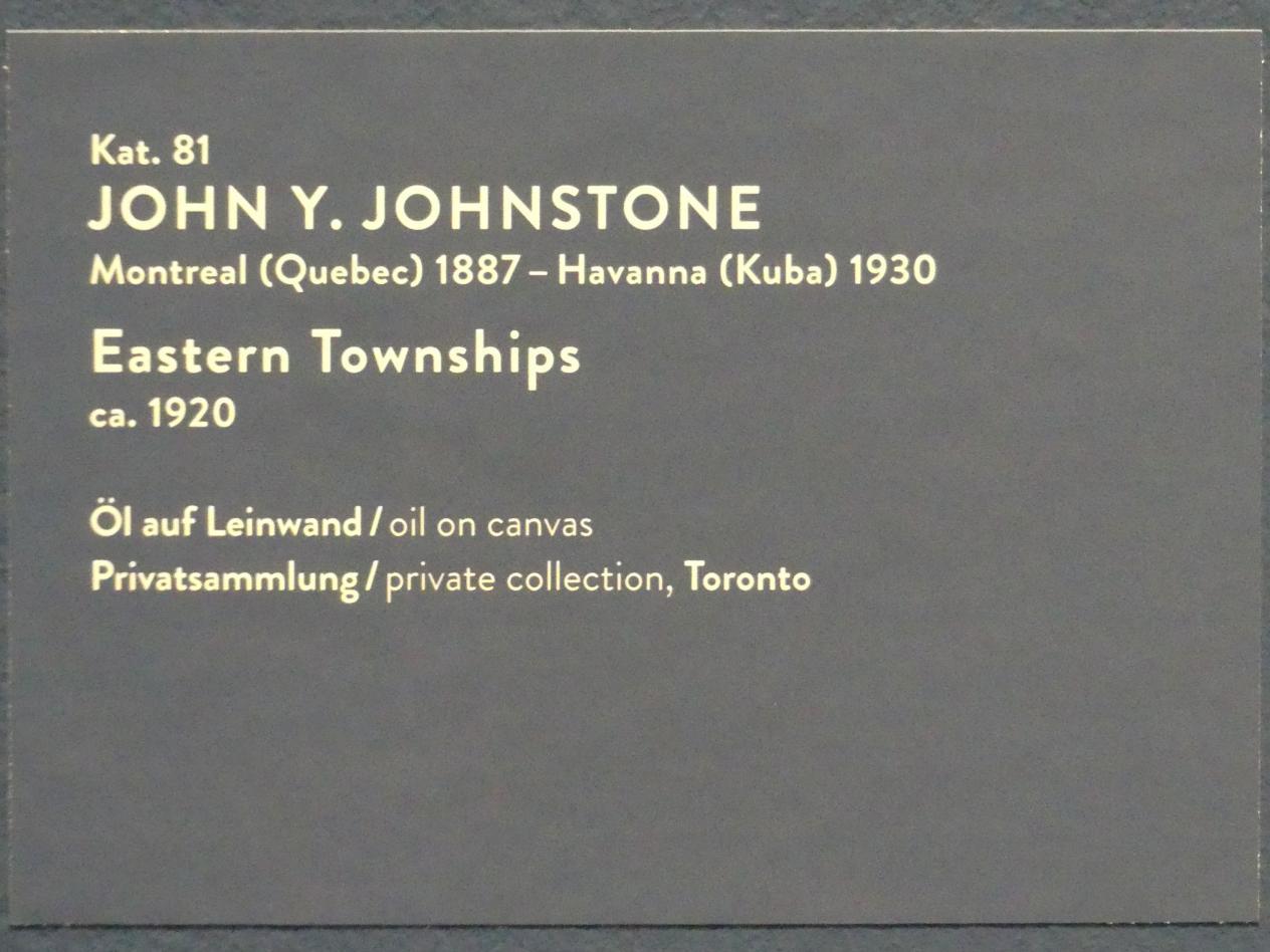 John Y. Johnstone: Eastern Townships, um 1920, Bild 2/2