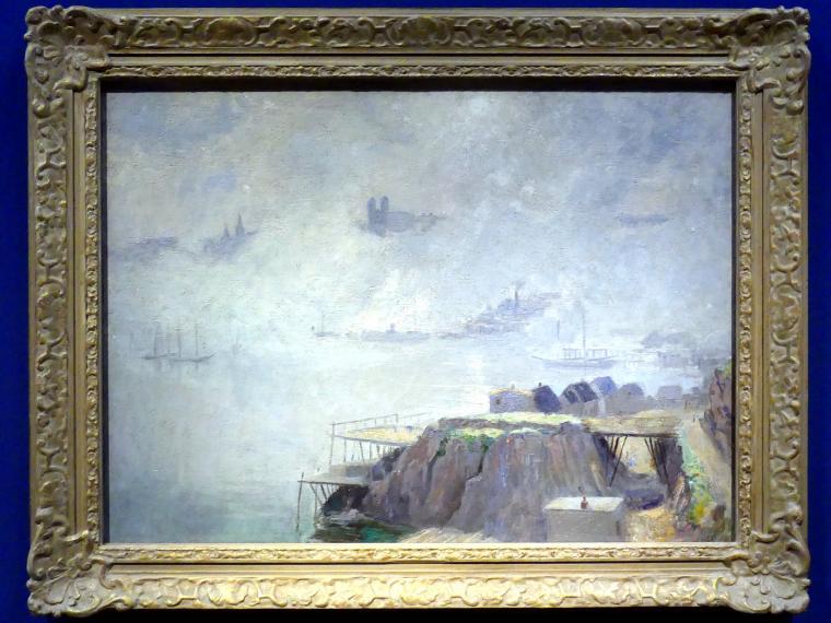 Maurice Galbraith Cullen: Aufsteigender Nebel, St. John's, Neufundland, um 1913