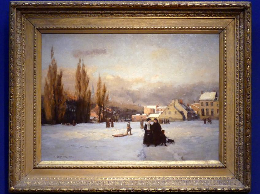 William Brymner: Champ-de-Mars, Winter, 1892