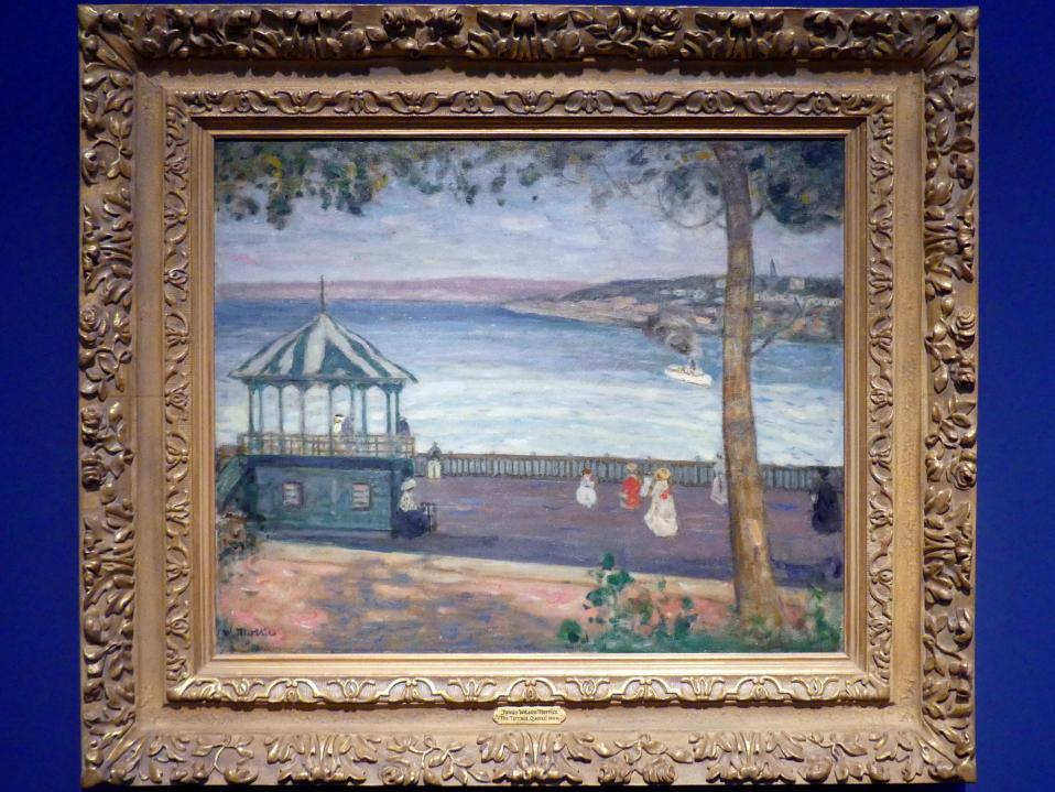 James Wilson Morrice: Die Terrasse, Quebec, 1910 - 1911