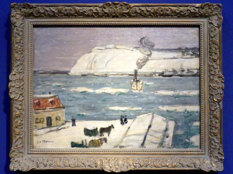James Wilson Morrice: Die Fähre, Quebec, 1907