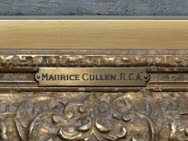 Maurice Galbraith Cullen: Die St. James-Kathedrale, Dominion Square, Montreal, um 1909 - 1912, Bild 2/3