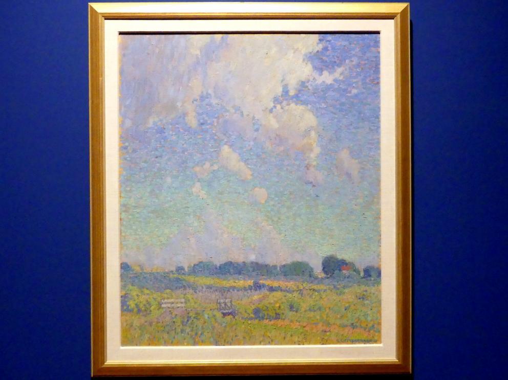 Lionel LeMoine FitzGerald: Sommernachmittag in der Prärie, 1921