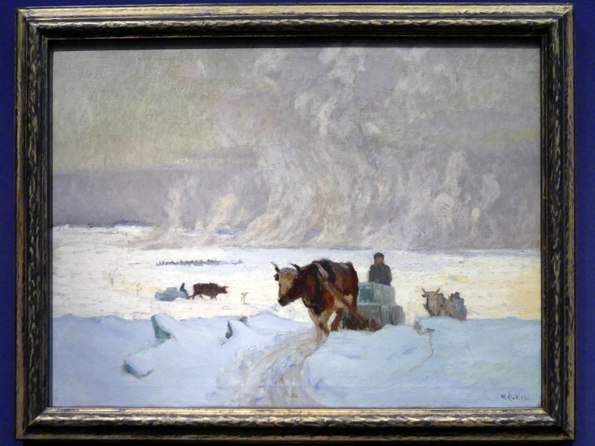 Maurice Galbraith Cullen: Die Eisernte, um 1913