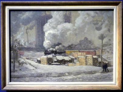 J. E. H. MacDonald (James Edward Hervey MacDonald): Wege und Verkehr, 1912
