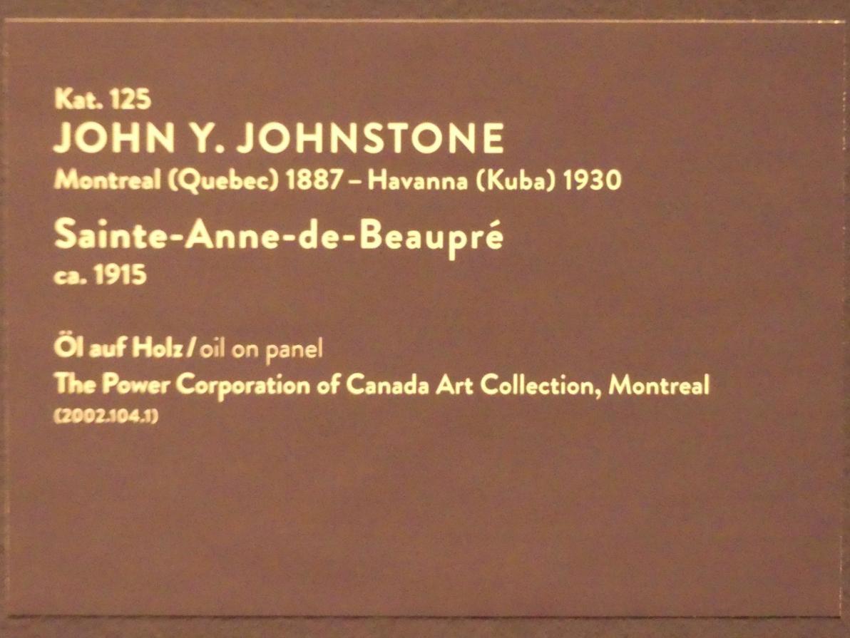 John Y. Johnstone: Saint-Anne-de-Beaupré, um 1915, Bild 2/2