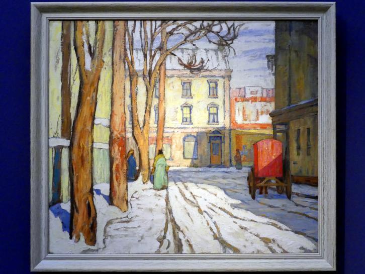 Lawren Stewart Harris: Toronto Street, Wintermorgen, 1920