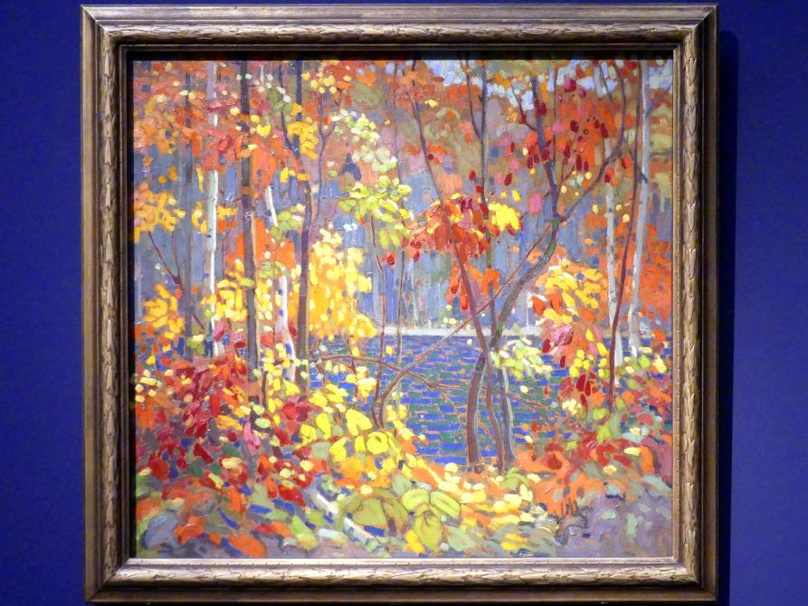 Tom Thomson: Der Teich, 1915 - 1916