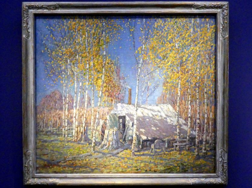 Arthur Lismer: Das Haus des Bergführers, Algonquin, 1914