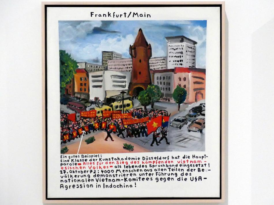 Jörg Immendorff: Frankfurt/Main, 1973