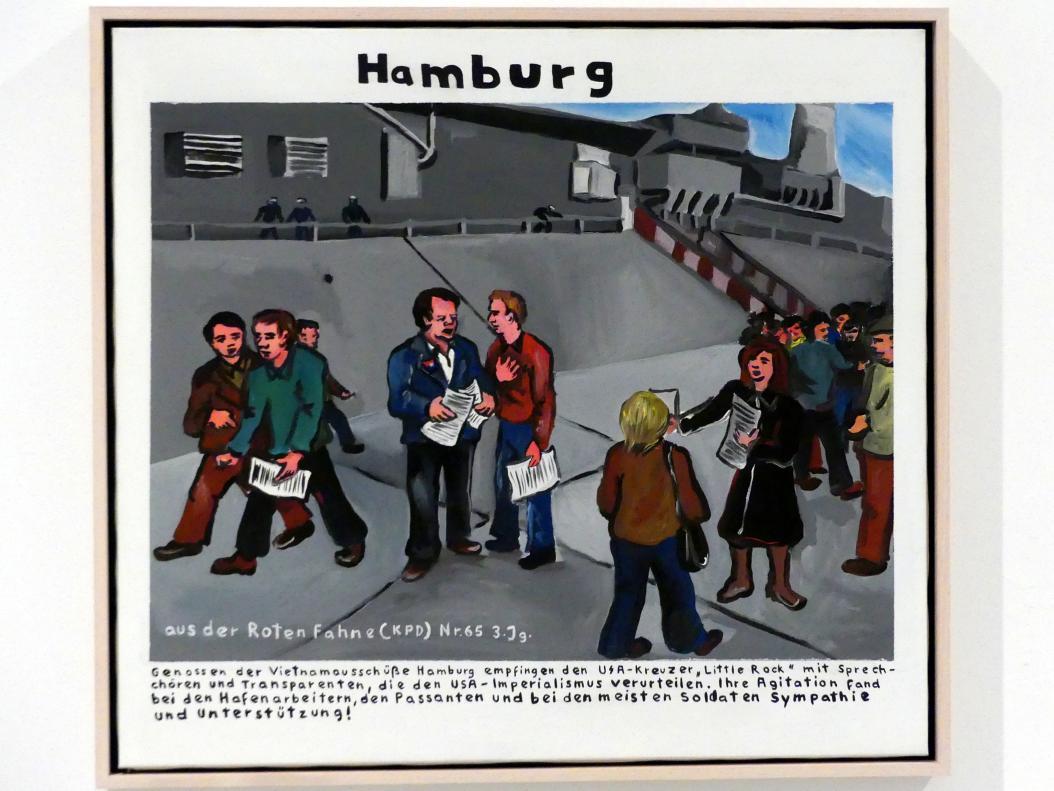 Jörg Immendorff: Hamburg, 1973