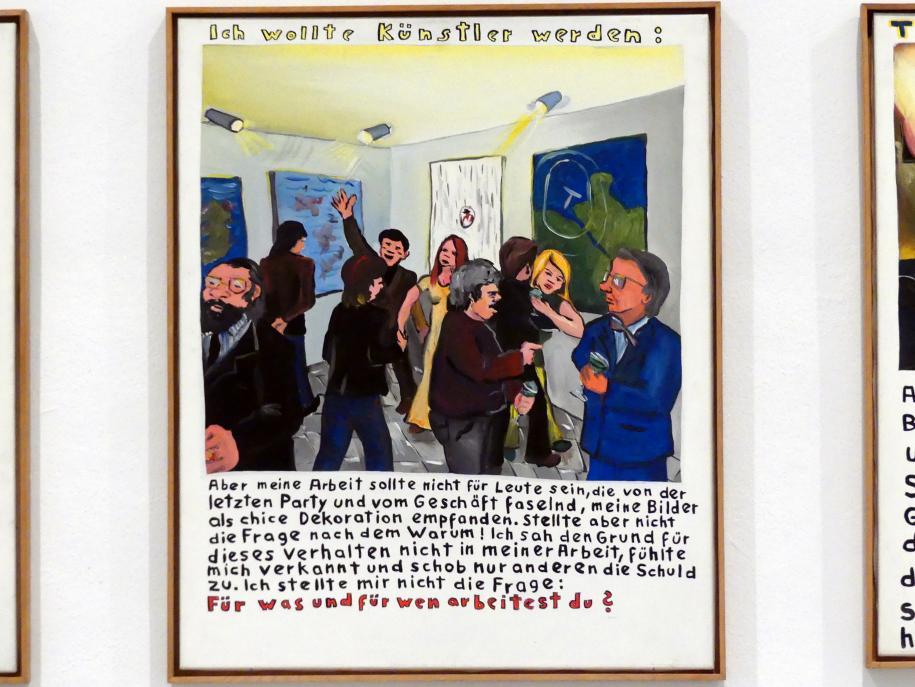 Jörg Immendorff: Ich wollte Künstler werden:, 1972