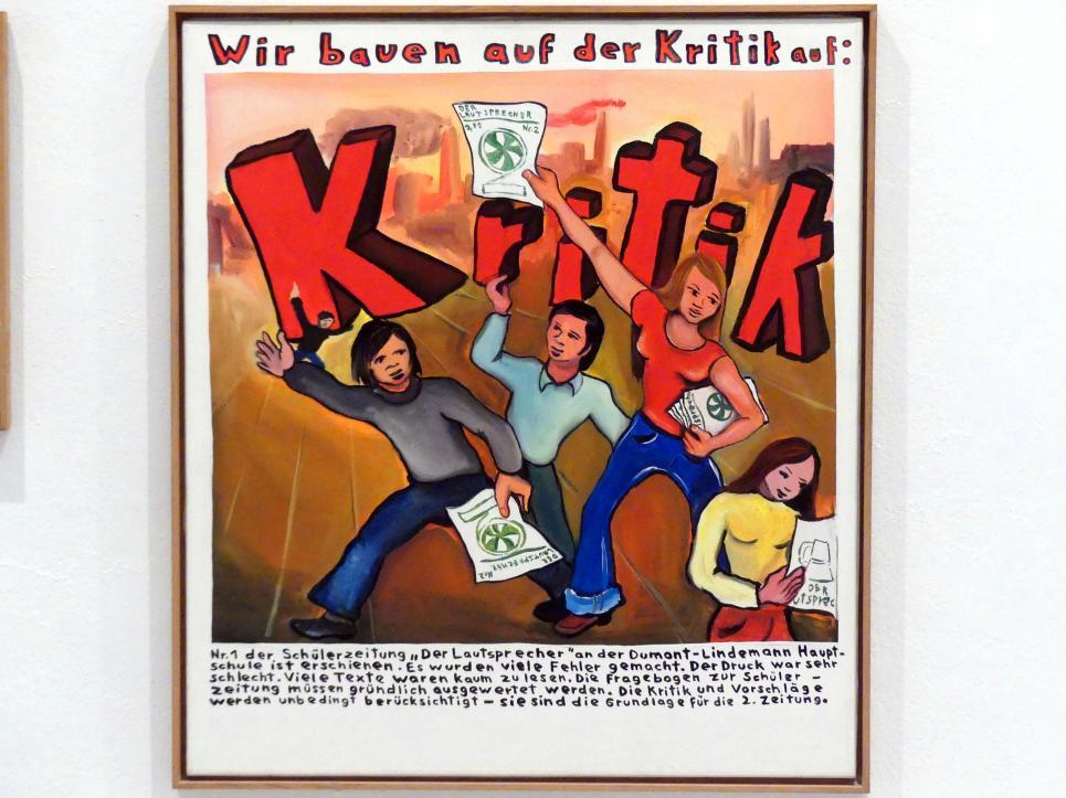 Jörg Immendorff: Kritik, 1972