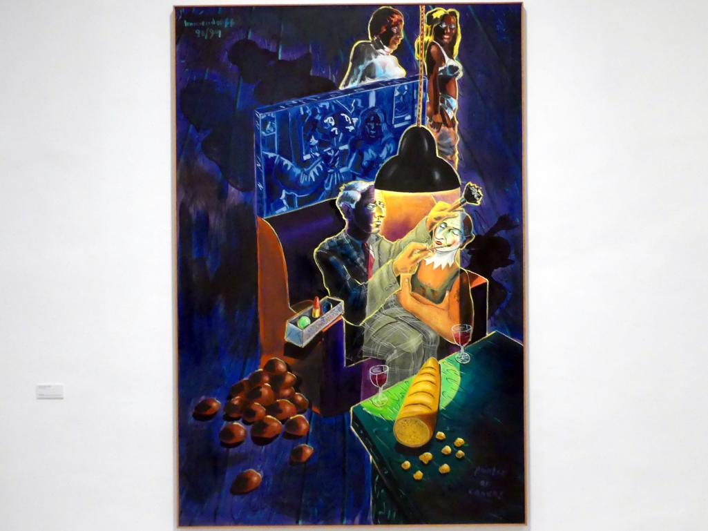 Jörg Immendorff: Painter as Canvas, 1990 - 1991