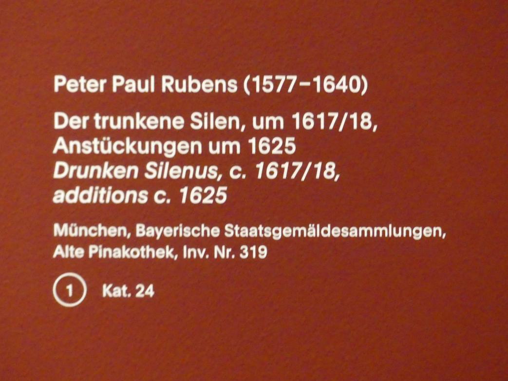 Peter Paul Rubens: Der trunkene Silen, um 1617 - 1618, Bild 2/2