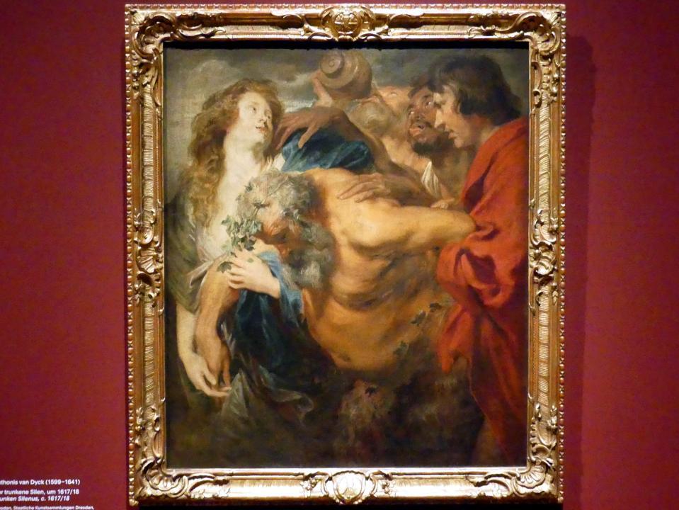 Anthonis (Anton) van Dyck: Der trunkene Silen, um 1617 - 1618