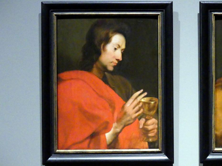 Anthonis (Anton) van Dyck (Werkstatt): Der Heilige Johannes Evangelista, um 1618 - 1620