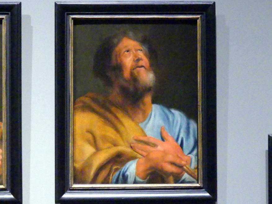 Anthonis (Anton) van Dyck (Werkstatt): Der Heilige Petrus, um 1618 - 1620