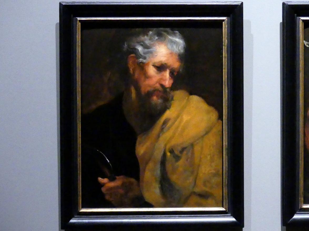 Anthonis (Anton) van Dyck (Werkstatt): Der Heilige Bartholomäus, um 1618 - 1620