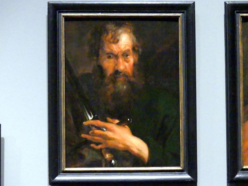 Anthonis (Anton) van Dyck (Werkstatt): Der Heilige Paulus, um 1618 - 1620