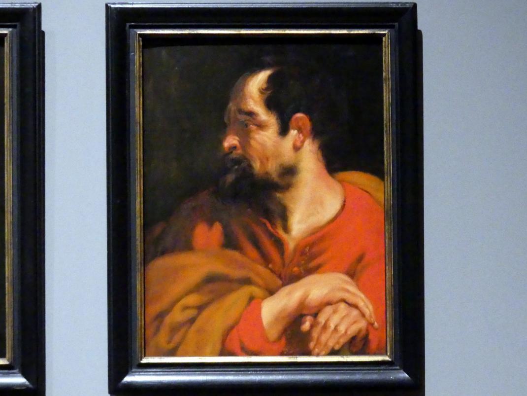 Anthonis (Anton) van Dyck (Werkstatt): Der Heilige Matthias, Um 1618 - 1620