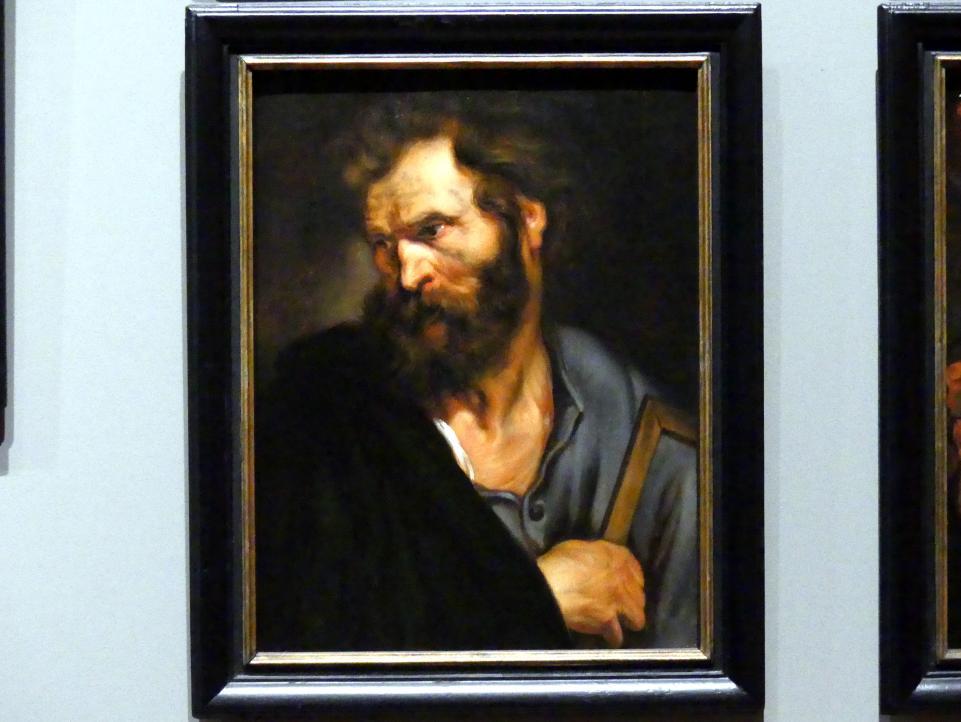 Anthonis (Anton) van Dyck (Werkstatt): Der Heilige Judas Thaddäus, Um 1618 - 1620