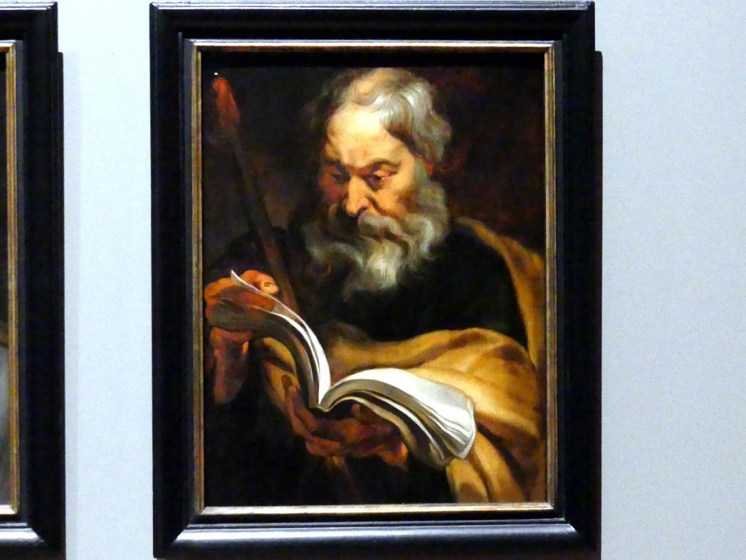 Anthonis (Anton) van Dyck (Werkstatt): Der Heilige Thomas, um 1618 - 1620