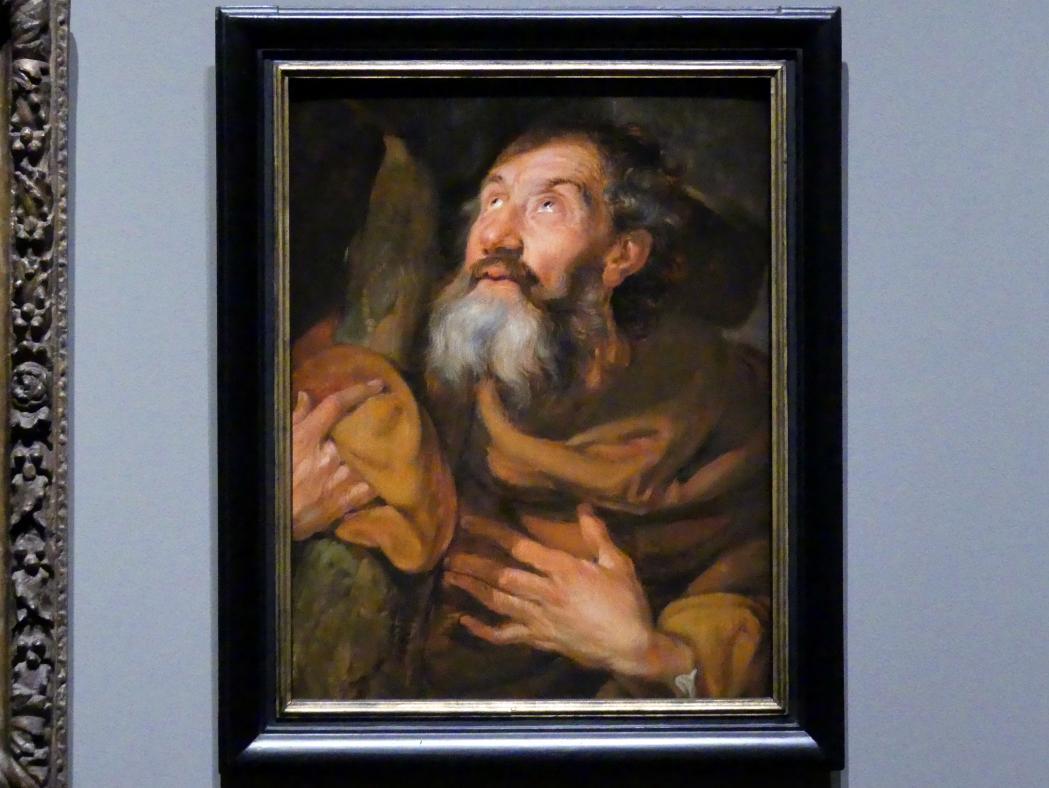 Anthonis (Anton) van Dyck (Werkstatt): Der Heilige Philippus, um 1618 - 1620