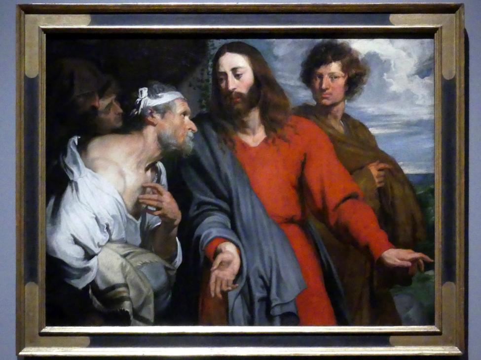 Anthonis (Anton) van Dyck: Christus und der Lahme, um 1618 - 1620