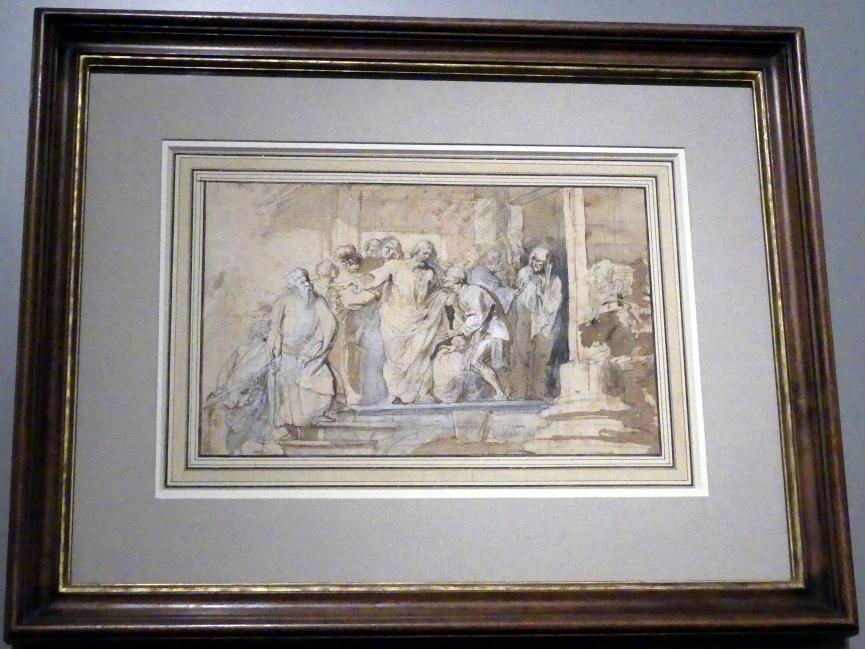 Anthonis (Anton) van Dyck: Die Heilung des Lahmen, Um 1618 - 1620