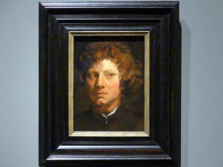 Anthonis (Anton) van Dyck: Studienkopf eines jungen Mannes, um 1618 - 1620