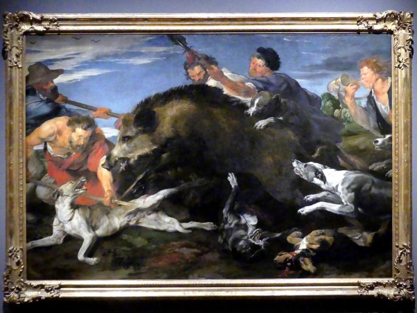 Frans Snyders: Die Eberjagd, um 1618 - 1620