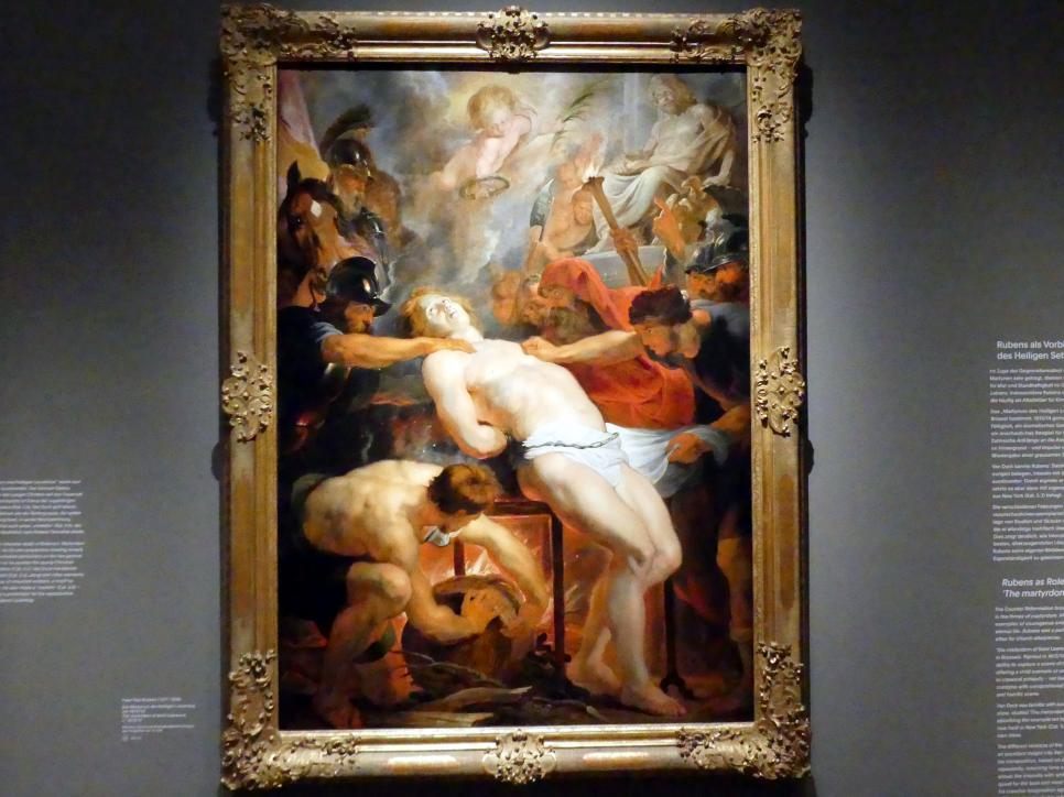 Peter Paul Rubens: Das Martyrium des Heiligen Laurentius, Um 1613 - 1614